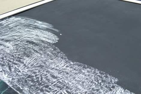 DIY framed mega magnetic chalkboard 14