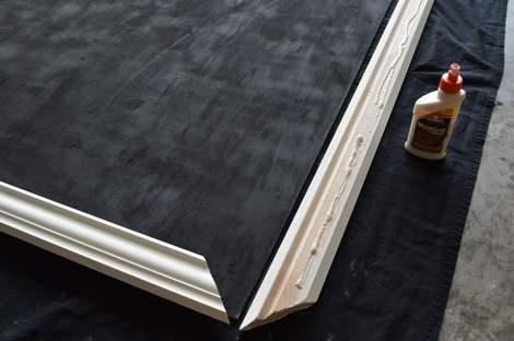 DIY framed mega magnetic chalkboard 17