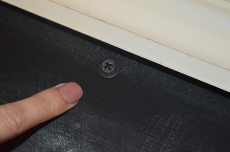DIY framed mega magnetic chalkboard 20 1