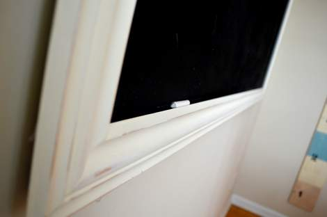 DIY framed mega magnetic chalkboard 24 | CampClem