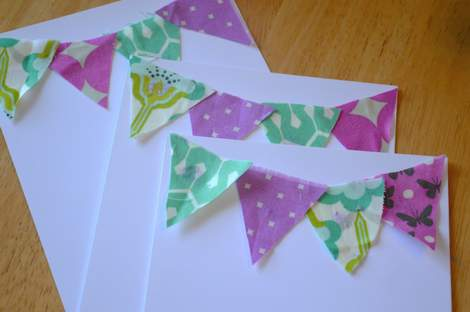 03 heather bailey pennant stationery glued