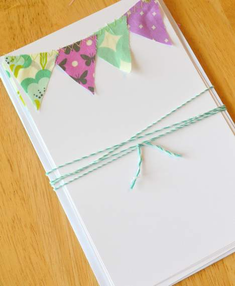 08 heather bailey pennant stationery