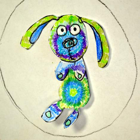 08 Knuffle Bunny tie-dye coloring