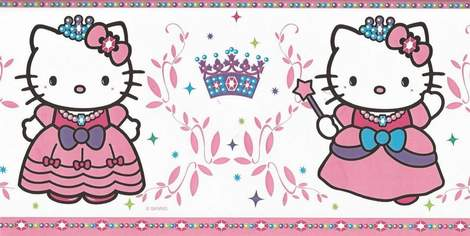 DIY hello kitty princess birthday party invitations 06