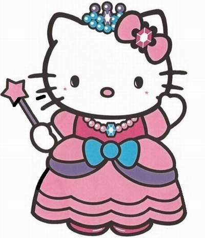 DIY hello kitty princess birthday party invitations 07