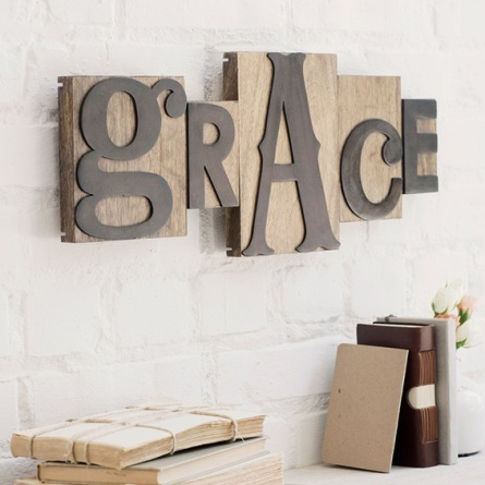 Grace - Letterpress Block Set