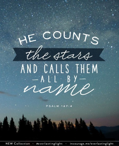 he counts the stars psalm 147 4
