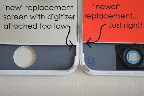 iPhone 4s cracked screen fix like a boss 03