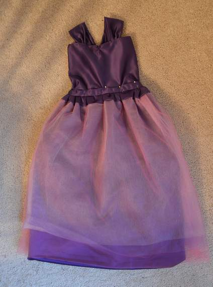 princess birthday purple ball gown dress 20