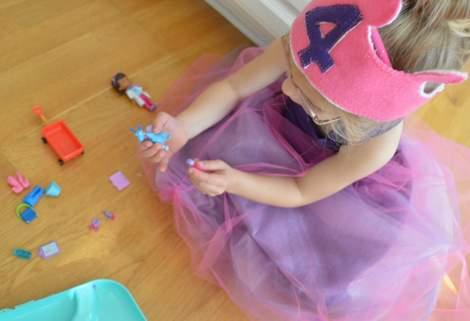 princess birthday purple ball gown dress 36