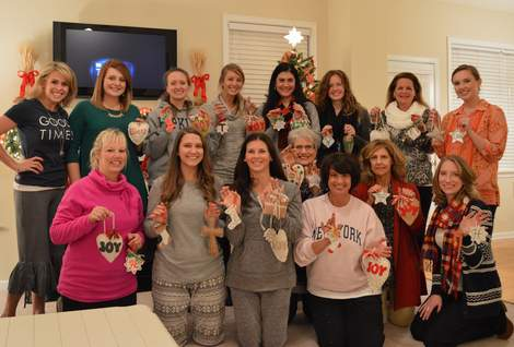 wives christmas ornament pinterest craft party 20