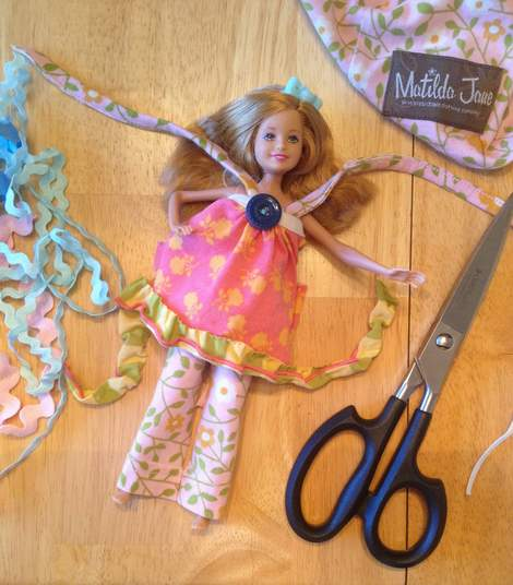 Barbie Stacie Matilda Jane Clothing upcycle doll outfit 03