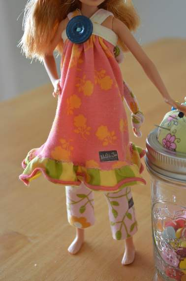 Barbie Stacie Matilda Jane Clothing upcycle doll outfit 07b