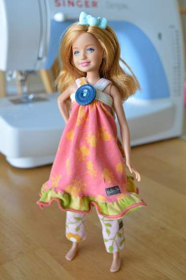 Barbie Stacie Matilda Jane Clothing upcycle doll outfit 09