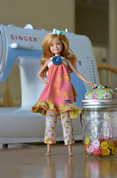 Barbie Stacie Matilda Jane Clothing upcycle doll outfit 10