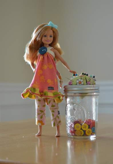Barbie Stacie Matilda Jane Clothing upcycle doll outfit 11