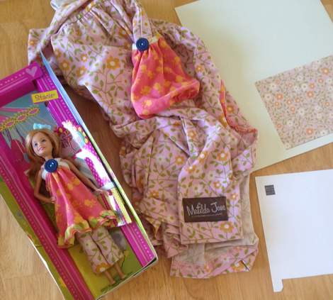 Barbie Stacie Matilda Jane Clothing upcycle doll outfit 14