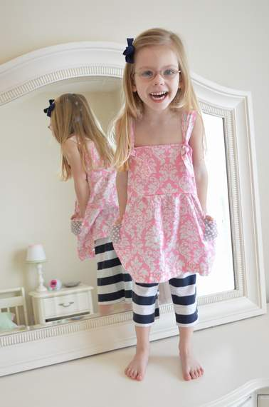 discovering your little girl style {not & knot tops} 12